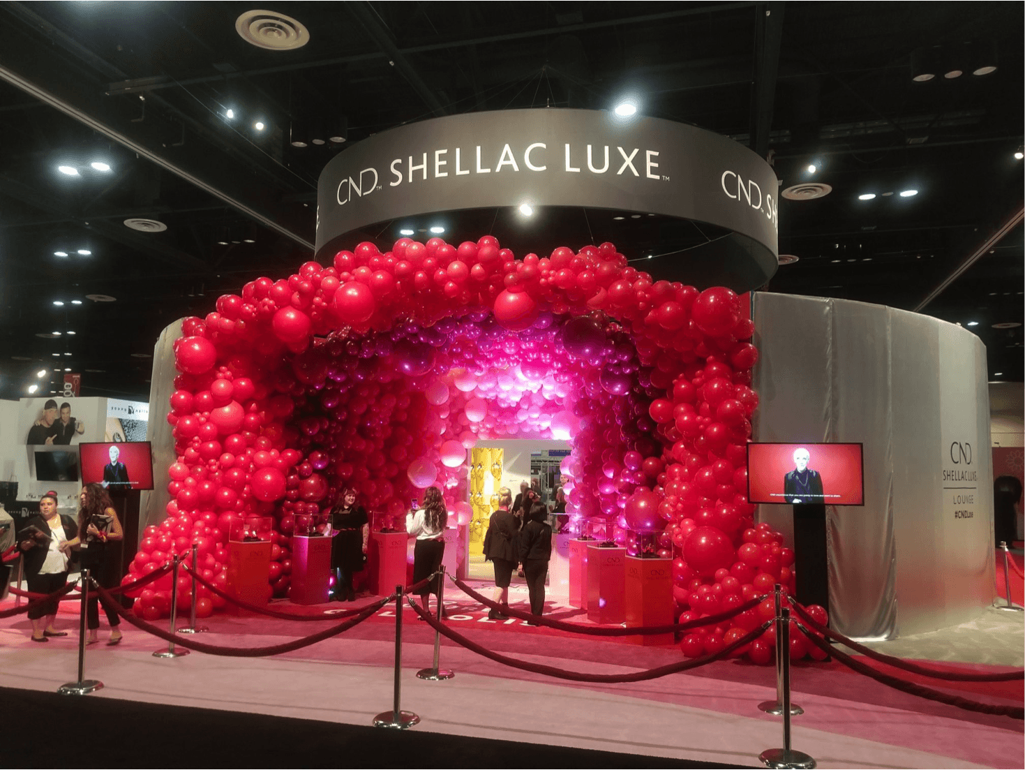 Event Activation Experience for CND – a Division of Revlon